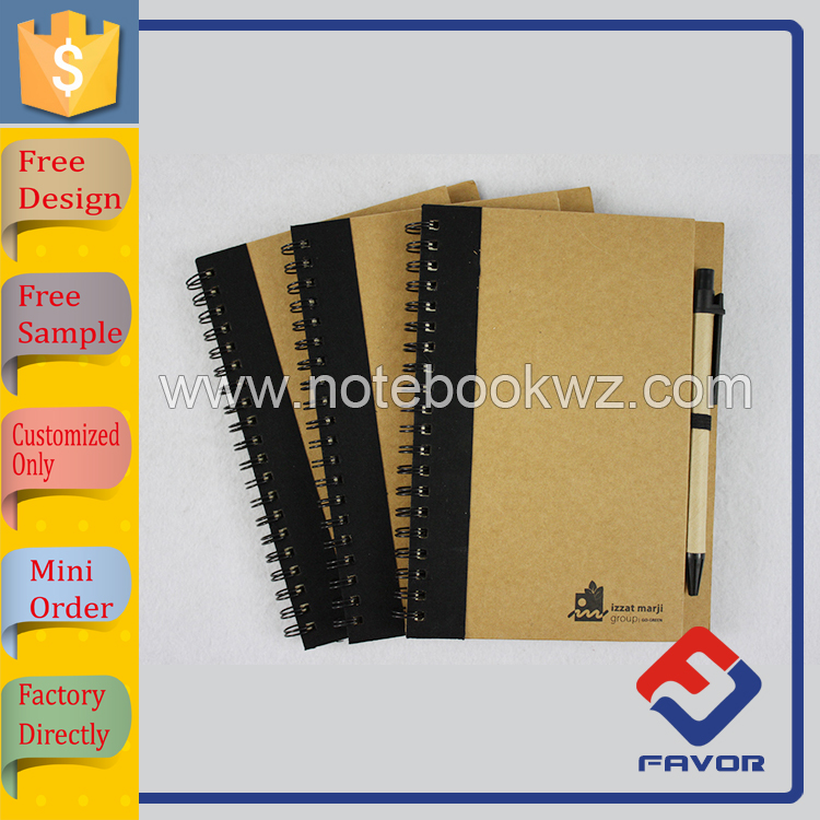 promotional gift LOGO debossed leather journal made in china
